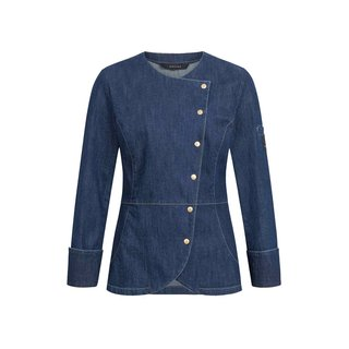 Blue Denim Kochjacke für Damen